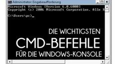 Die wichtigsten CMD-Befehle in Windows auf einen Blick