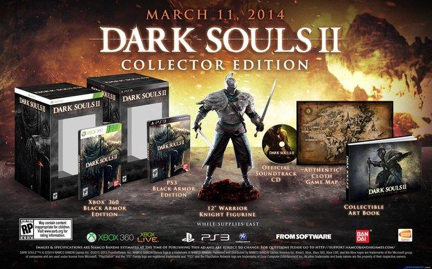 Dark Souls 2: Genauer Release-Termin und Collector's Edition angekündigt