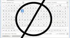 Durchmesserzeichen mit der Tastatur: so geht's