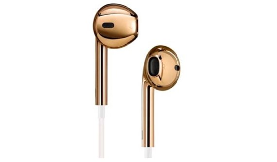 Jony Ive gestaltet goldene EarPods (Kaules Bettmümpfeli*)