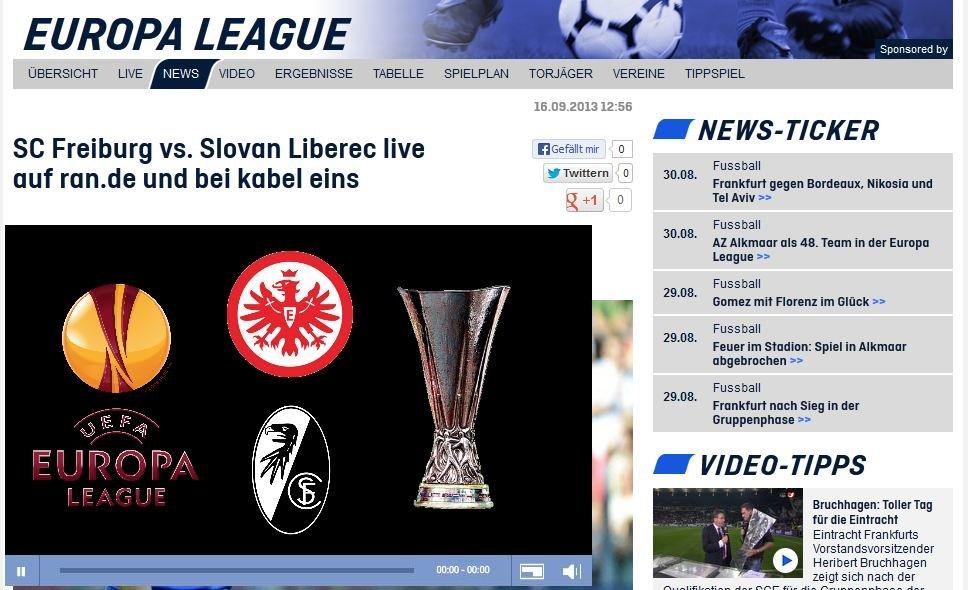 frankfurt freiburg live stream