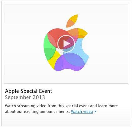 Special Event - iPhone 5S und iPhone 5C