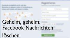 Facebook: Nachrichten nachträglich löschen, jetzt gehts