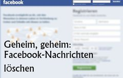 Facebook: Nachrichten löschen...