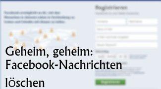 Facebook: Nachrichten löschen und Unterhaltungen entfernen