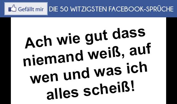 facebook sprüche status