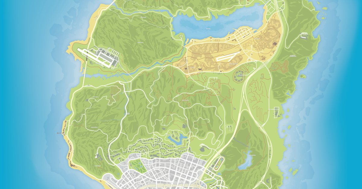 GTA 5 Map: Wie man wirklich alles in Los Santos findet – GIGA