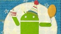 Android wurde gestern 5 Jahre alt - Herzlichen Glückwunsch nachträglich!