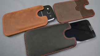 germanmade.: Schicke Leder-Hüllen für Samsung Galaxy S3 &amp&#x3B; S4 mit 10% Rabatt [Gewinner stehen fest]