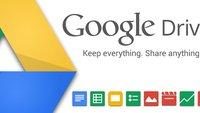 Google Drive-App: Neue Version mit Verbesserungen bei Optik, Tabellen und mehr [APK-Download]