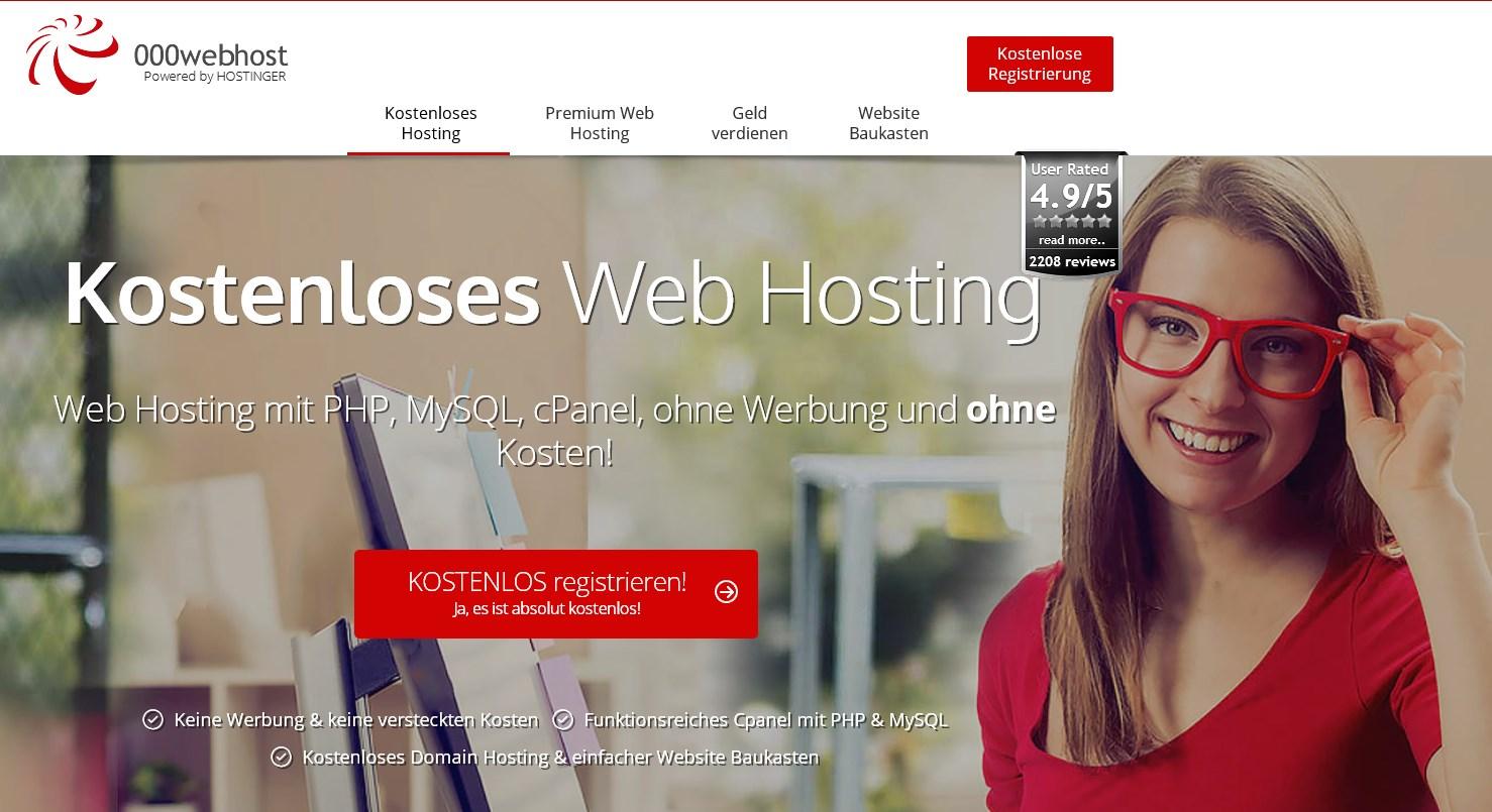 Die eigene kostenlose Homepage erstellen – so geht's