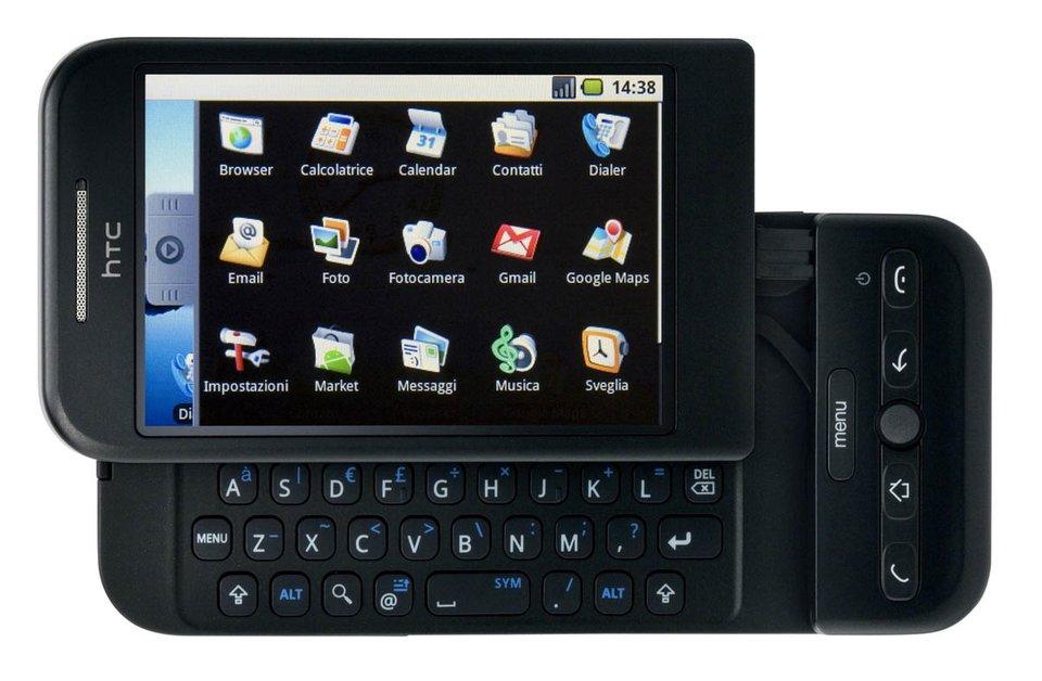 HTC Dream: Erstes Android-Smartphone wurde vor 5 Jahren vorgestellt Bild