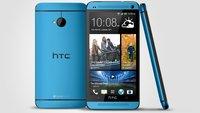 HTC One, One mini: Blaue Modelle offiziell vorgeschlumpft