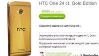 HTC One: Gold-Version kommt nach Russland, ist teuer