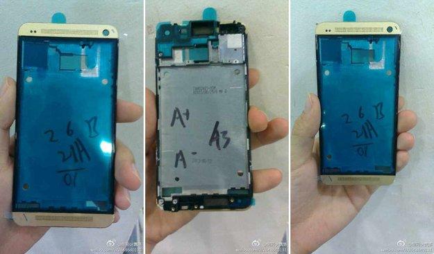 HTC One: Goldene Version auf Bildern gesichtet