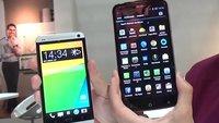 HTC One vs. Acer Liquid S2: Videovergleich der beiden Highend-Devices  [IFA 2013]
