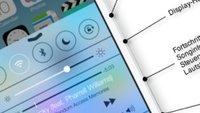 iOS 7: Funktionen aufrufen – der schnelle Überblick