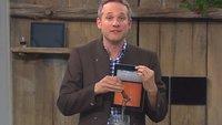 Betthupferl: Das Wiesn-iPad mit Zapfhahn