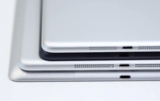 iPad mini 2: Gehäuserückseite im Hands-on-Video
