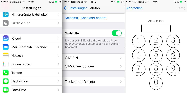 Iphone 6s Sim Karte Wechseln.Iphone Tutorial Pin Der Sim Karte Und Code Sperre ändern