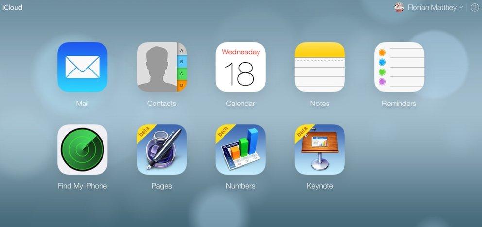 iCloud.com: Neues Design jetzt für alle Benutzer