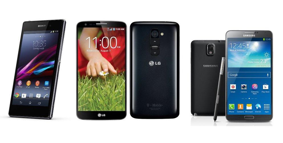 IFA-Neuheiten im Handel: Galaxy Note&nbsp&#x3B;3, Xperia&nbsp&#x3B;Z1, LG&nbsp&#x3B;G2, Sony Smart-shot vorbestellbar