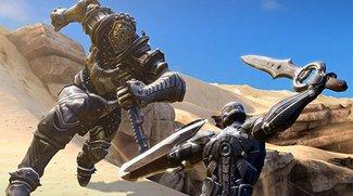 Infinity Blade 3 im App Store: Neue Monster, neue 64-Bit-Grafik