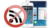iOS 7: WLAN-Probleme beim iPhone beheben (Tipp)