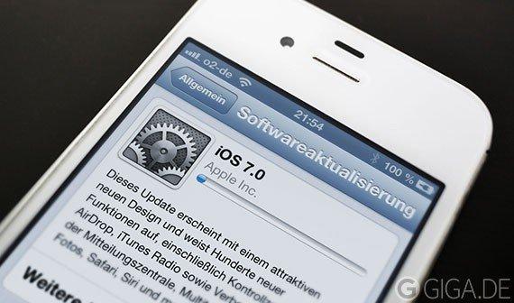 iOS 7: Bereits auf 30 Prozent der Geräte installiert, überholt Android [Update]
