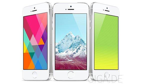 iOS 7: Die neuen Wallpaper als Download