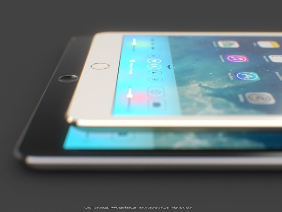iPad mini in Gold und iPad 5 in Spacegrau