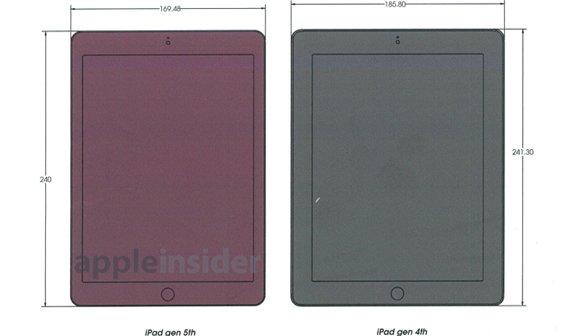 iPad 5: Blaupausen zeigen Design-Änderungen im Detail