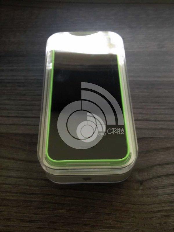 iPhone 5C verpackt