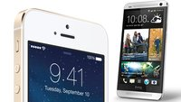 iPhone 5s vs. HTC One: Metallschlacht zwischen High-End-Smartphones