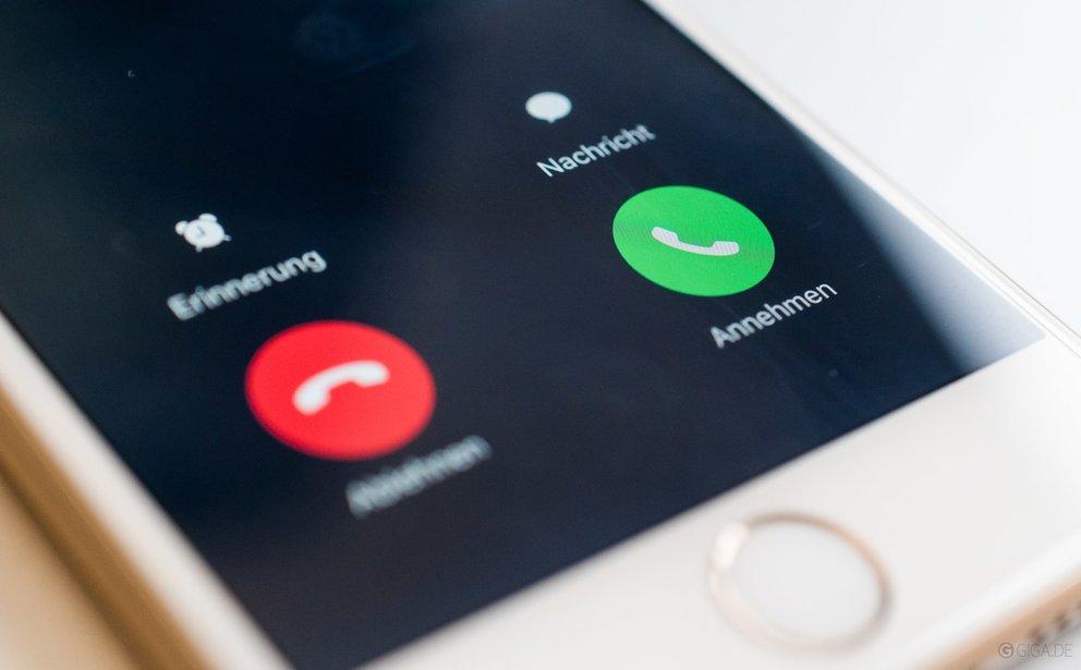 Anrufer auf dem iPhone abweisen, so gehts