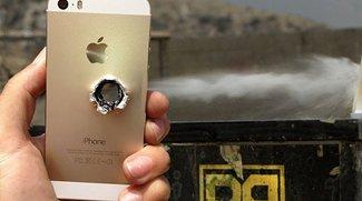 Video of the Day: iPhone 5s unter Beschuss