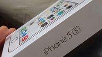 iPhone 5s und iPhone 5c: Erste Unboxing-Fotos und ein Video
