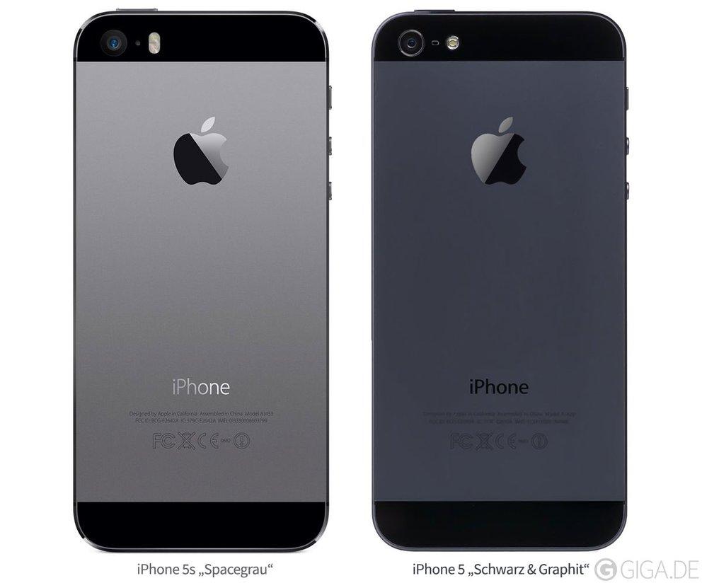 iPhone 5s vs iPhone 5