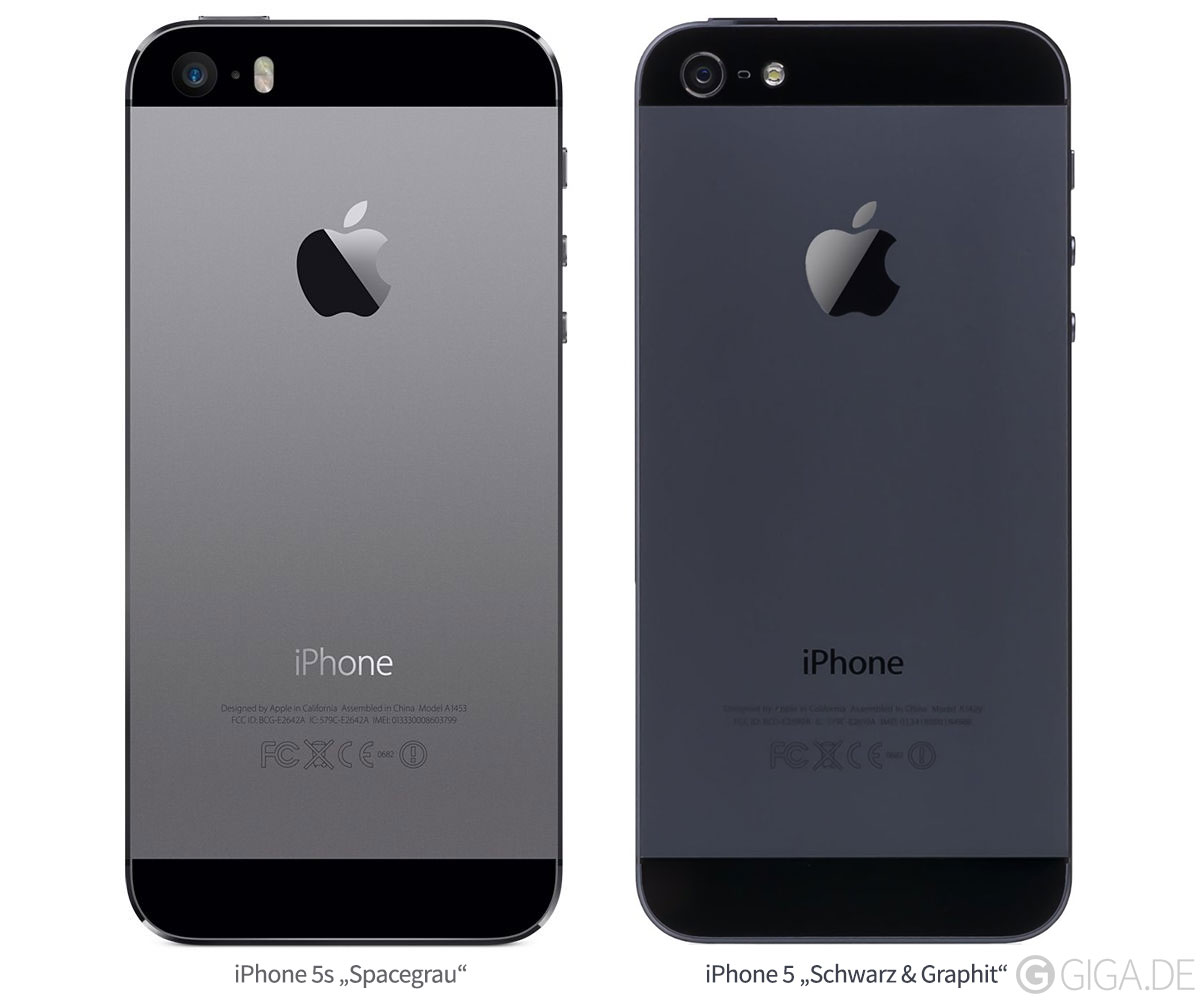 space gray die neue farbvariante des iphone 5s im video. Black Bedroom Furniture Sets. Home Design Ideas