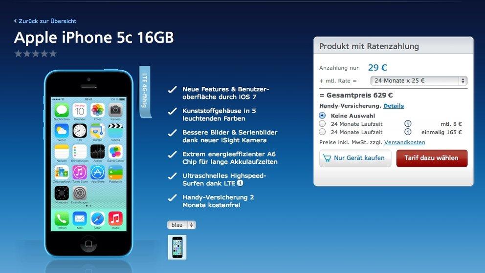Iphone 5s Und Iphone 5c Kaufen Alle Wichtigen Informationen Giga