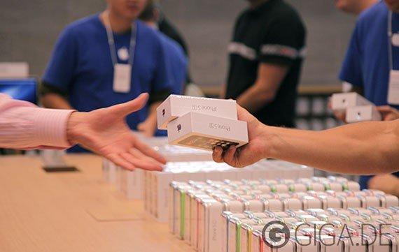 Analysten: 7 Millionen iPhone 5s und 2 Millionen iPhone 5c verkauft
