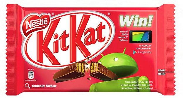 Android 4.4 KitKat: Hintergründe zum Deal mit Nestlé