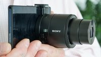 Sony DSC-QX10/Sony DSC-QX100: Die Aufsteckkameras für Smartphones und Tablets