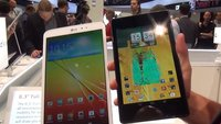 LG G Pad 8.3 vs. Nexus 7 (2013): Full HD-Tablets im Videovergleich [IFA 2013]