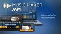 Magix Music Maker Jam: Kostenlose Musikmach-App für Android veröffentlicht