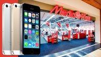 iPhone 5s und iPhone 5c im Mediamarkt und bei Saturn: Erstmals vertragsfreie Geräte zum Verkaufsstart