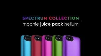 "Mophie Juice Pack Helium in Farbe: Die ""Spectrum Collection"""