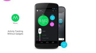 Moves: Erfolgreiche Activity Tracker-App endlich auch für Android verfügbar