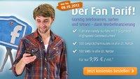 netzclub Fan Tarif: 1 GB-Highspeed-Volumen, 100 Freiminuten und SMS für 9,95 Euro
