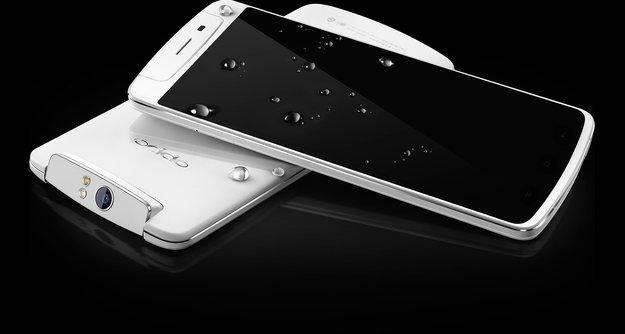 OPPO N1: CyanogenMod-Smartphone mit Snapdragon 600 und drehbarer Kamera vorgestellt